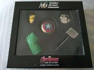 GSC avenger - age of ultron keychain set