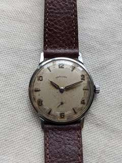 Vintage 1960s Hamilton Thinline 5000 Mechanical Watch