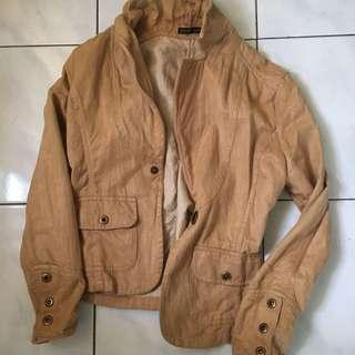 Women Jacket in Nude