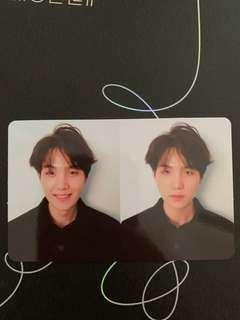 WTT BTS OFFICIAL PHOTOCARD