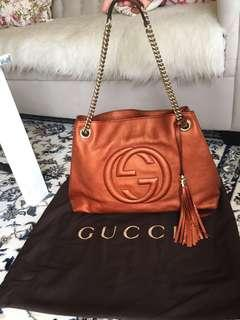 Gucci soho chain authentic
