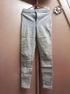 High waist TOP SHOP jeans