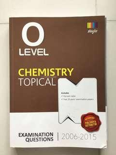 O Level Chemistry topical 2006 to 2015