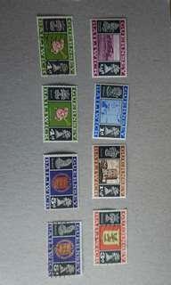 Guernsey郵票8枚