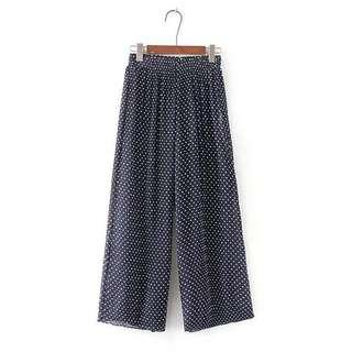 SALE! Dot Pleated Trousers