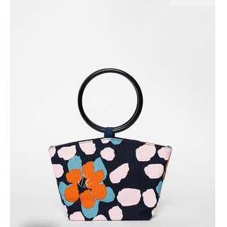 Love Bonito Alexa Circular Handle Mini Bag