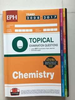 O level Chemistry 2008 to 2017