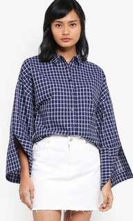 NEW Something Borrowed Boxy Shirt