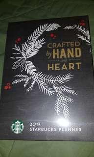 2017 Starbucks Planner@ PHP 250