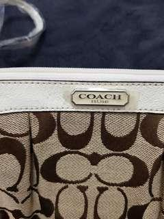 Coach wristlet pouch