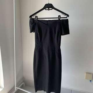 ZARA Off Shoulder Dress
