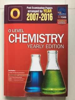 O level Chemistry 2007 to 2016