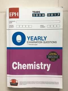 O level yearly Chemistry 2008 to 2017