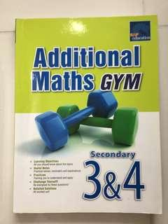 Additional Math Gym for Sec 3 and 4