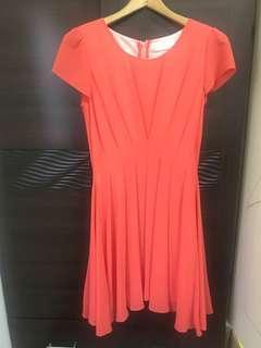 IENA橘紅洋裝