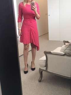 Zara Spotted dress XS