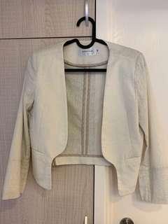 女裝短外套(棉麻材質)