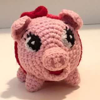 豬仔錢罌 鈎冷 豬年 新年擺設