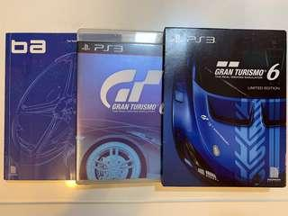 PS3,GT6,特別版,珍藏,Game,遊戲,賽車