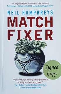 🚚 Neil Humphreys - Match Fixer (Signed copy) #SpringCleanAndCarouSell50