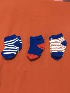 Blue Socks Set