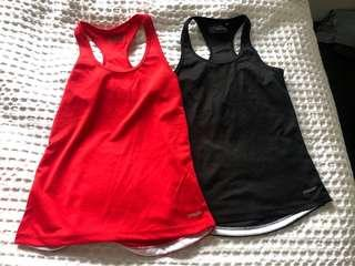 Gym tops size XS/s