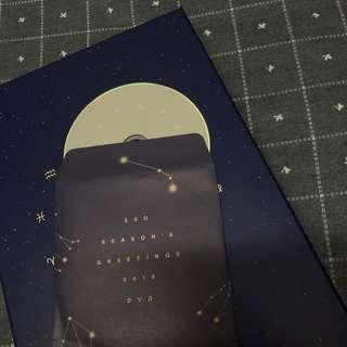 """EXO SEASON GREETING 2019 """"Behind The Scene"""" CD. p/s: never play before and it will come with freegift if you buy"""