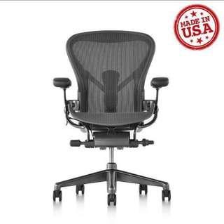 🚚 BNIB Herman Miller Remastered Aeron Ergonomic Chair