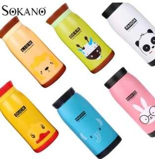 350ml TF004 Animals Stainless Steel Vacuum Flask Double Walll Leak Proof Beverage Thermos Bottle