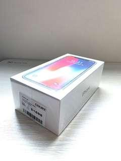 BNIB iPhone X 256GB - Space Gray