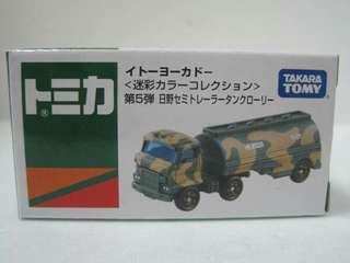 Tomica 車仔 迷彩 油 車