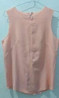 Pink simple top