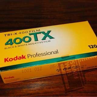 Fresh Kodak Tri-X 400 (120 Format)