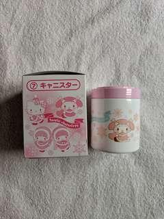 Sanrio Japan Hello Kitty Little Twin Stars My Melody Glass Container Canister Kuji 2018
