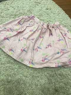 Mothercare pink flamingo skirt
