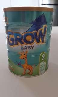 Grow milk powder 6m-12m