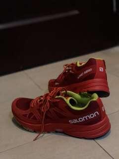 SALOMONa Sonic Aero Running Shoe UK11 EU46 US11.5