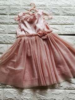 Pink glittery Dress for girls