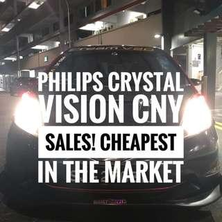 Chinese New Year Bulb Sales! Make Your Car Stand Out More! Philips Crystal Vision! LTA Approved! Limited Time Only!