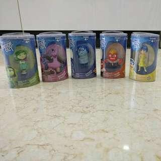 (New) Inside Out Figurines Set