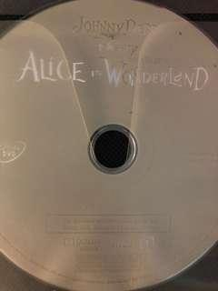 Alice in the wonderland (dvd)