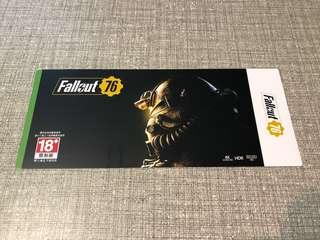 Xbox One Fallout 76 (download code)