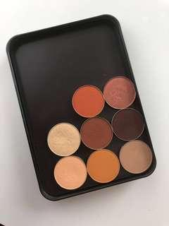 Makeup geek shadows and palette