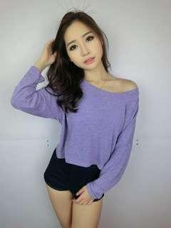 Oversize Long Sleeves T