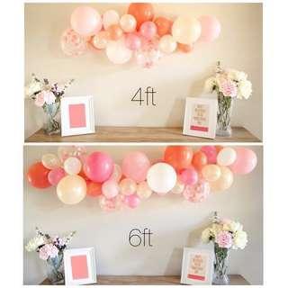 Customize Balloon Garland (4ft / 6ft)