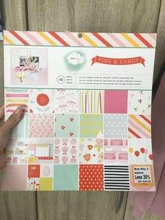 scrapbooking paper booklet 48 pages