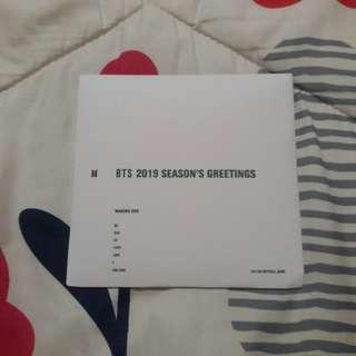 BTS 2019 Season Greeting DVD Making
