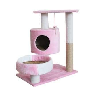 Layered Cat Condo (Pink)