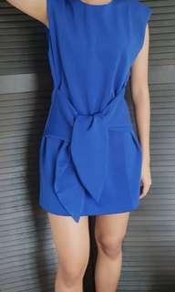 Blue MDS mini dress