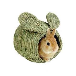 Hay house for rabbits or small animals